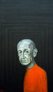 Elujanu. 2008. Akrüül lõuendil. / Thirst for life. Acrylic on canvas, 120 x 60 cm