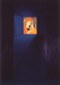 Lahendus. 2006. Õli lõuendil. / Solution. Oil on canvas, 195 x 137 cm