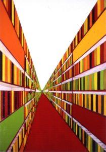 Vaeva väärt! 2006. Õli lõuendil. / It's worth it! Oil on canvas, 195 x 137 cm