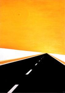 Ära karda. 2006. Õli lõuendil. / Don't be afraid. Oil on canvas, 195 x 137 cm