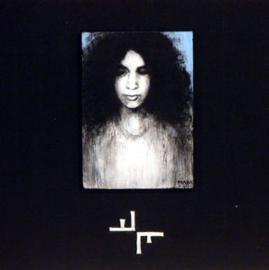 Pärand. 2002. Akrüül alusel. Erakogus. / Heritage. Acrylic on cardboard, 25 x 25 cm. In private collection