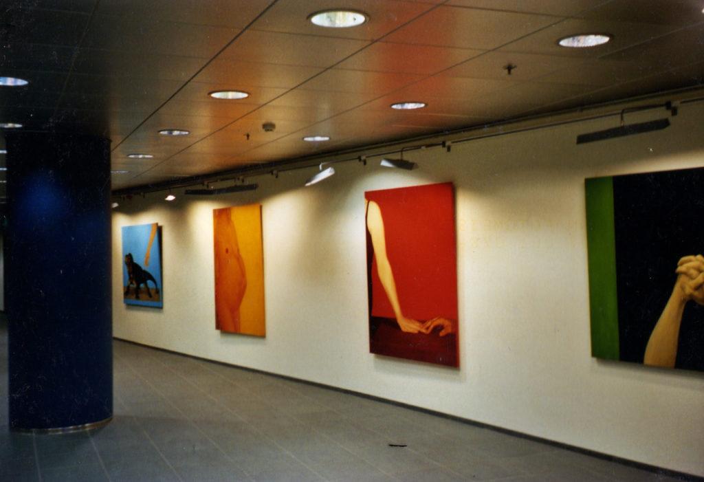 Minu esimene näitus Ühispanga galeriis. 2004