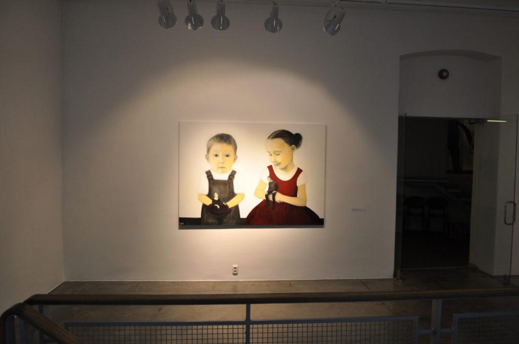 Näitus. Kahest neljani, Hobusepea galerii. 2014