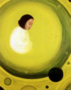 Palve. 2007. Õli lõuendil. / Prayer. Oil on canvas, 195 x 137 cm