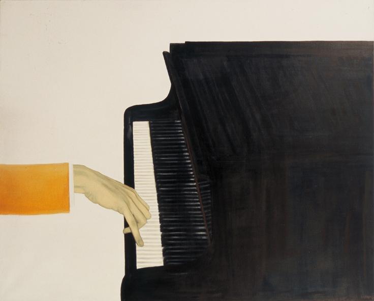 Side IV. 2004. Õli lõuendil. / Connection IV. Oil on canvas, 150 x 120 cm
