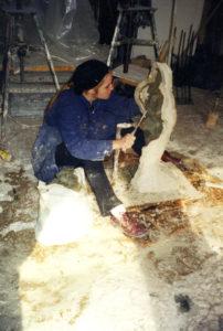 EKA-s Rajal skulptuuritunnis. 2000