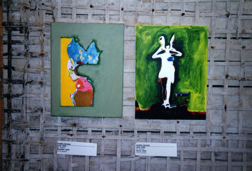 Vaade näituselt Eraldi ja samas koos
