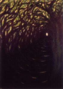 Lootus,2006, õli lõuendil, 195 x 137 cm