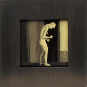 Tervenemine IV, 2002,akrüül alusel, 40 x 40 cm